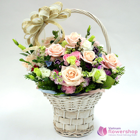 Love flowers free shipping in Vietnam