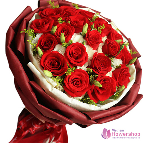 Love flowers for girlfriend in Vietnam