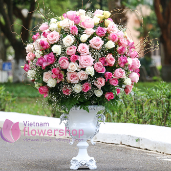 Vietnam luxury flowers for delivery