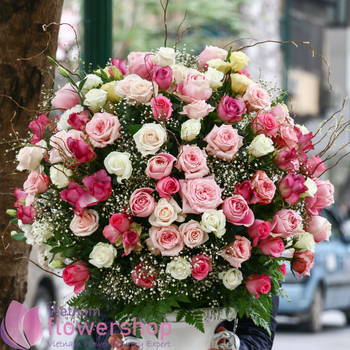 Vietnam luxury flowers for delivery online