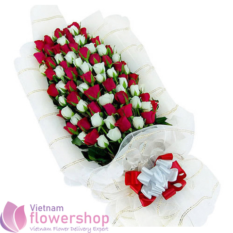 Vip flowers shop delivery to Vietnam