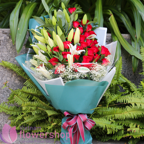 Flowers for birthday in Vietnam