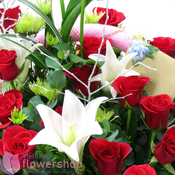 Best flowers for birthday in Vietnam same day delivery