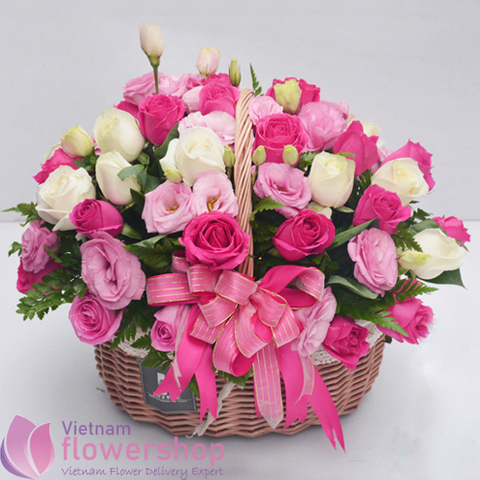 Order birthday flowers online to Vietnam