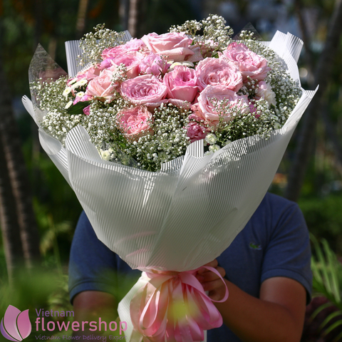 Vietnam birthday flowers bouquet