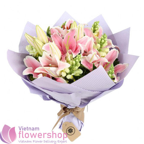 Birthday flowers for deliver to Hochiminh City