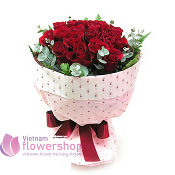 Birthday flowers free delivery to Halong bay
