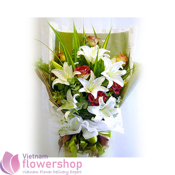 Send flowers for birthday in Vietnam