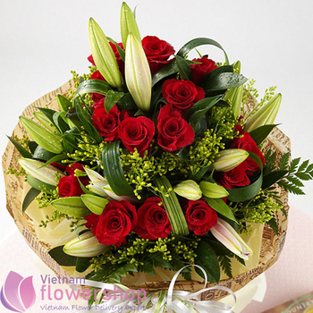 Birthday flowers same day delivery in Vietnam online