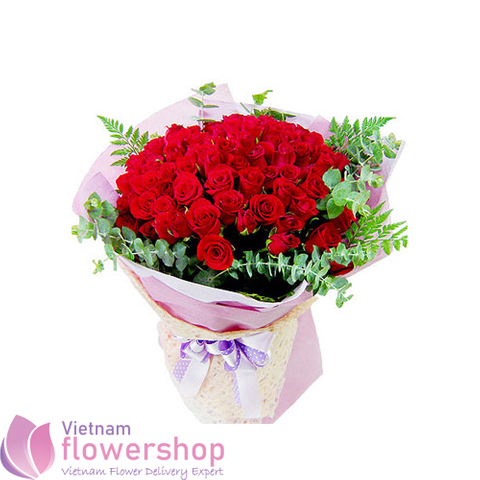 Birthday flower delivery to Hochiminh Vietnam