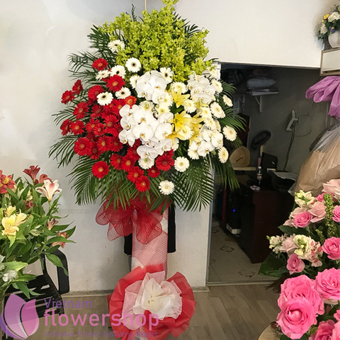 Flowers for opening in Hochiminh city