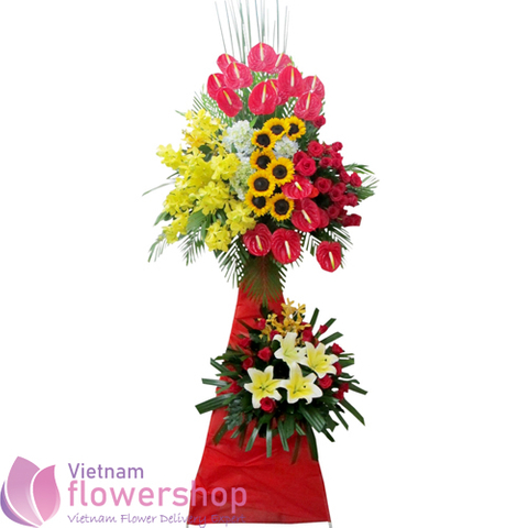 Vietnam grand opening flowers free delivery