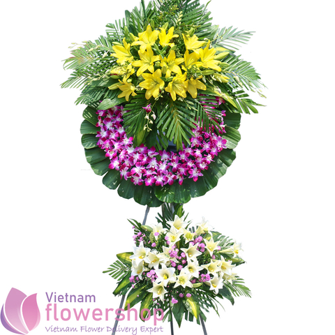 Vietnam funeral and sympathy flowers online