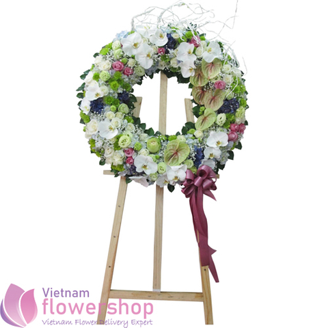 Vietnam beauty funeral flowers for delivery