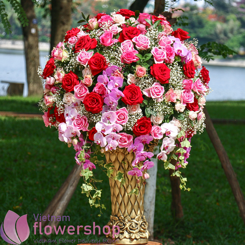The best flowers shop in Vietnam