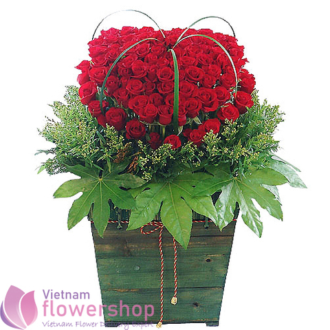 Vietnam flowers service free shipping