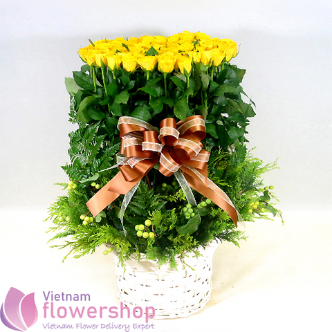 Flowers to Haiphong same day delivery