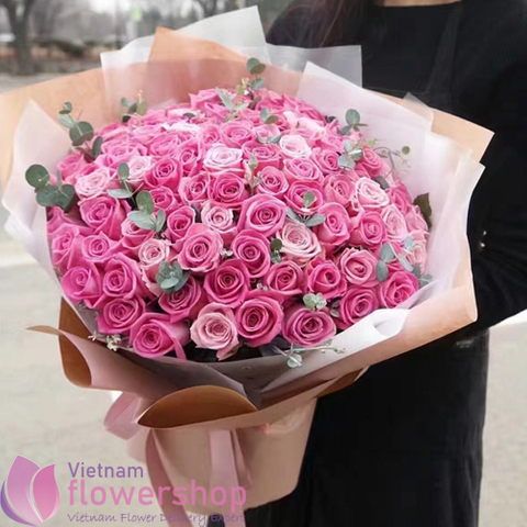 VIP flowers bouquet in Hochiminh
