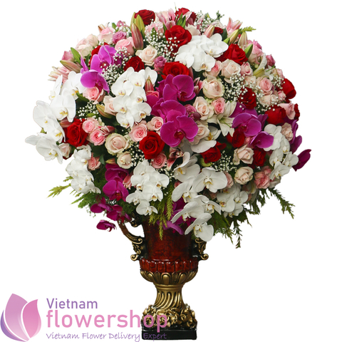 Flower shop delivery Danang Vietnam