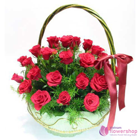 Flowers free delivery Danang city