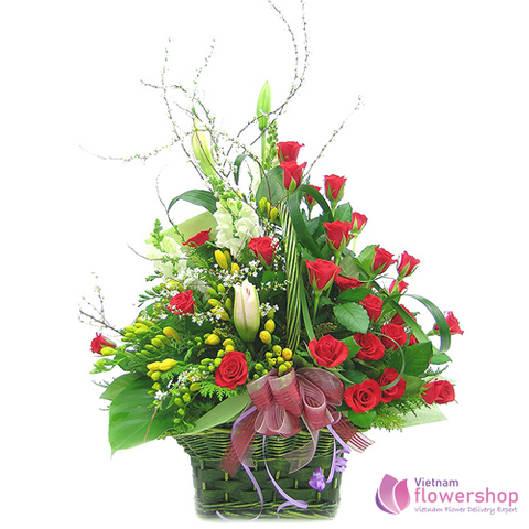 Vietnam flower shop free shipping