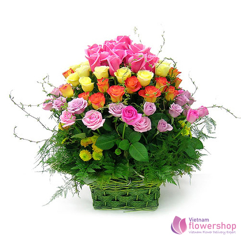 Free delivery flowers to Vungtau Vietnam