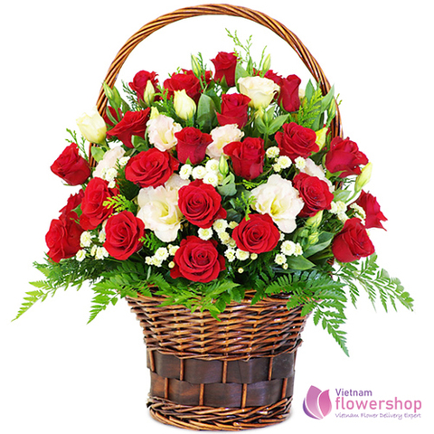 Love flowers delivery in Hoi An