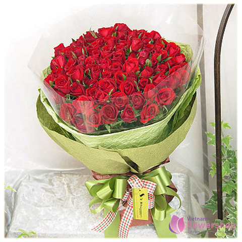 Love flowers free same day delivery in Vietnam