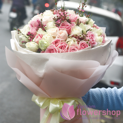 Lovely bouquet for someone in Vietnam