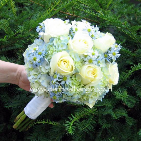 Wedding bouquet order online in vietnam