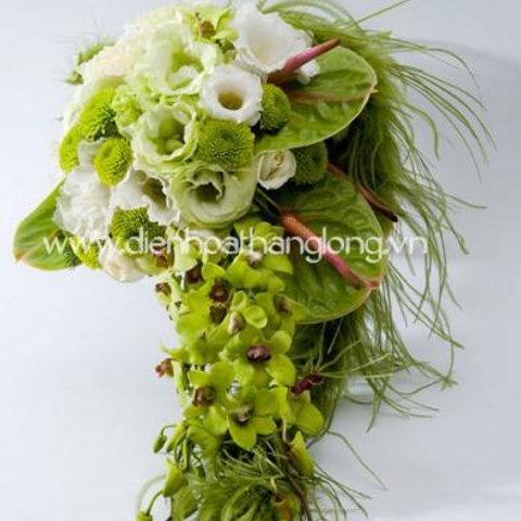 WEDDING BOUQUETS GREEN