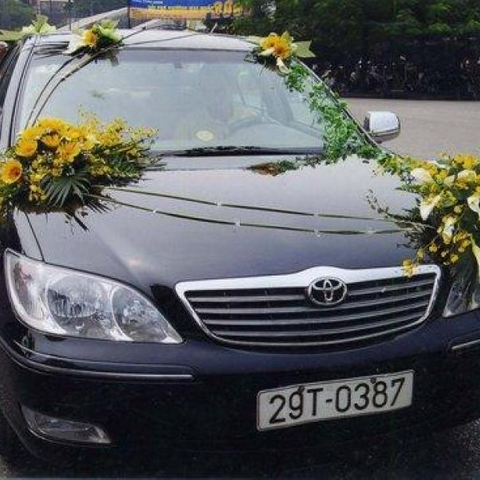 XH003-Wedding Flower Car