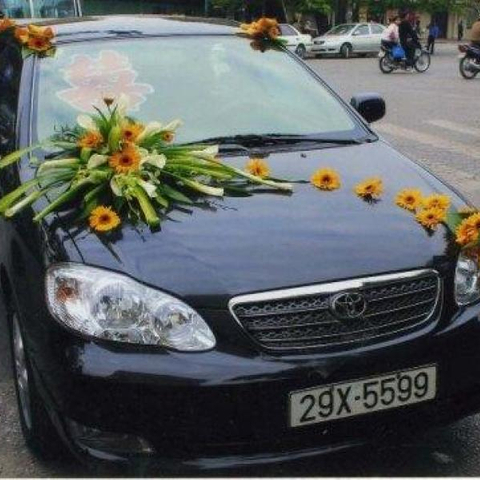 XH006-Wedding Flower Car