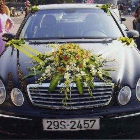 XH007-Wedding Flower Car