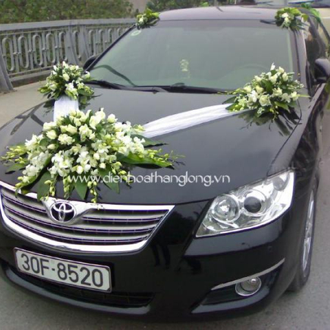 XH008-Wedding Flower Car