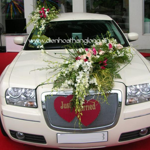 XH011-Wedding Flower Car