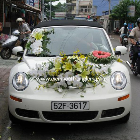 XH012-Wedding Flower Car