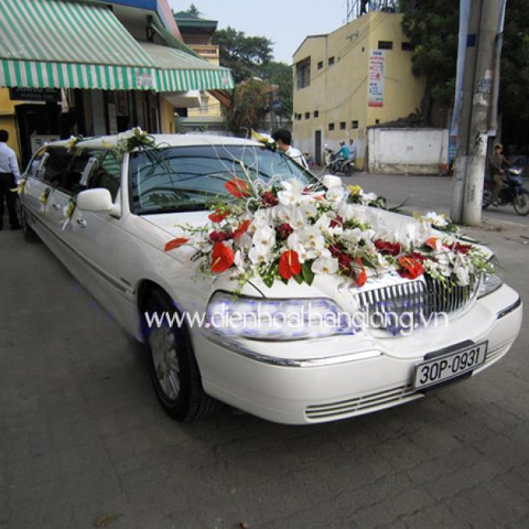 XH015-Wedding Flower Car
