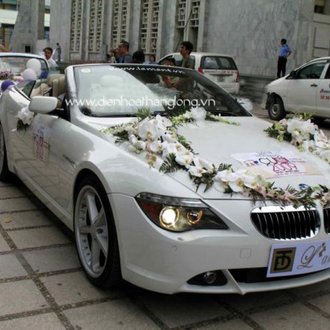 XH016-Wedding Flower Car