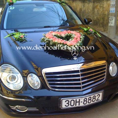 XH017-Wedding Flower Car