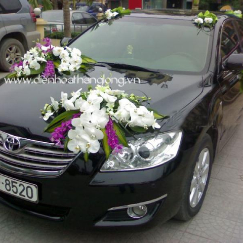 XH018-Wedding Flower Car