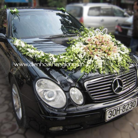XH020-Wedding Flower Car