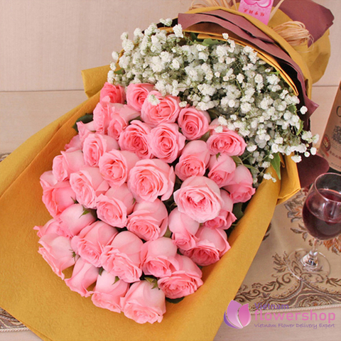Sweet flowers for love in Vietnam