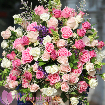 Send birthday flowers to Vietnam same day delivery