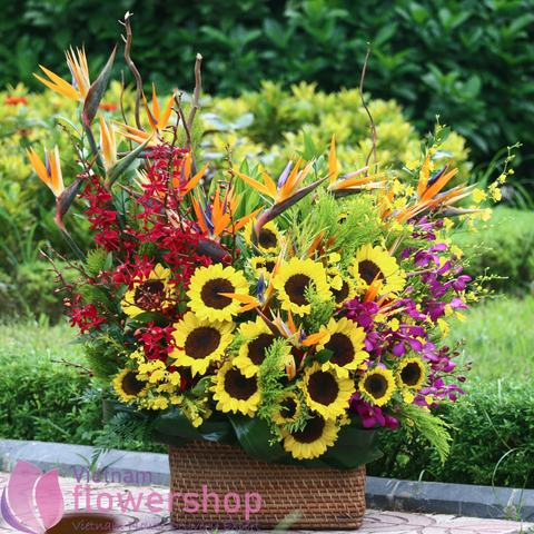 Flower delivery free shipping to Cantho