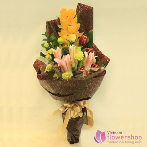 Vietnam Orchid flower gifts for female boss