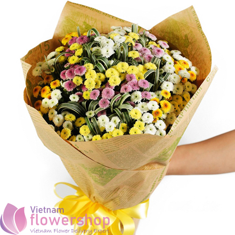 Calimero daisy bouquet free delivery