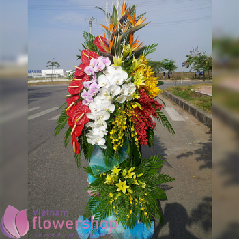 Opening ceremony flowers in Vietnam free ship