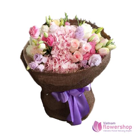 Vietnam Sweet flowers bouquet for loving