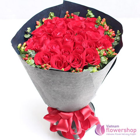 Vietnam Xmas flower arrangements bouquet